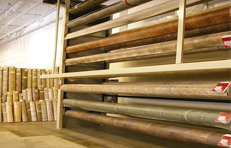 Sheet Vinyl Flooring Rolls and Remnants