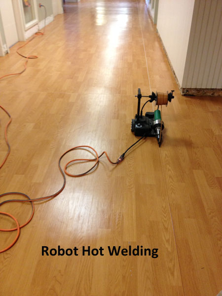 Robot Hot Welding