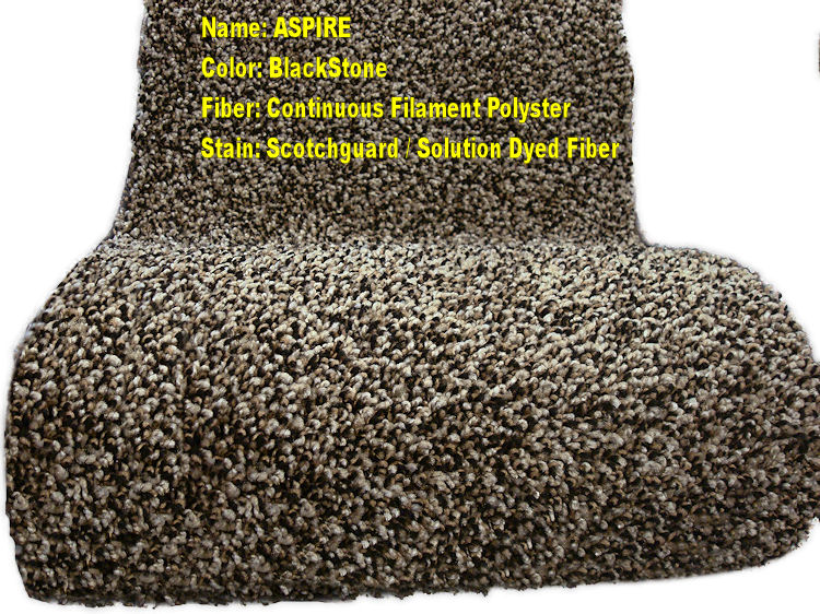 A Nice 46 Oz Pile Carpet This Does Not Shed And Is Made Of Solution Dyed Polyester Fibers Designed To Hold Up In Traffic Areas Also Provide The
