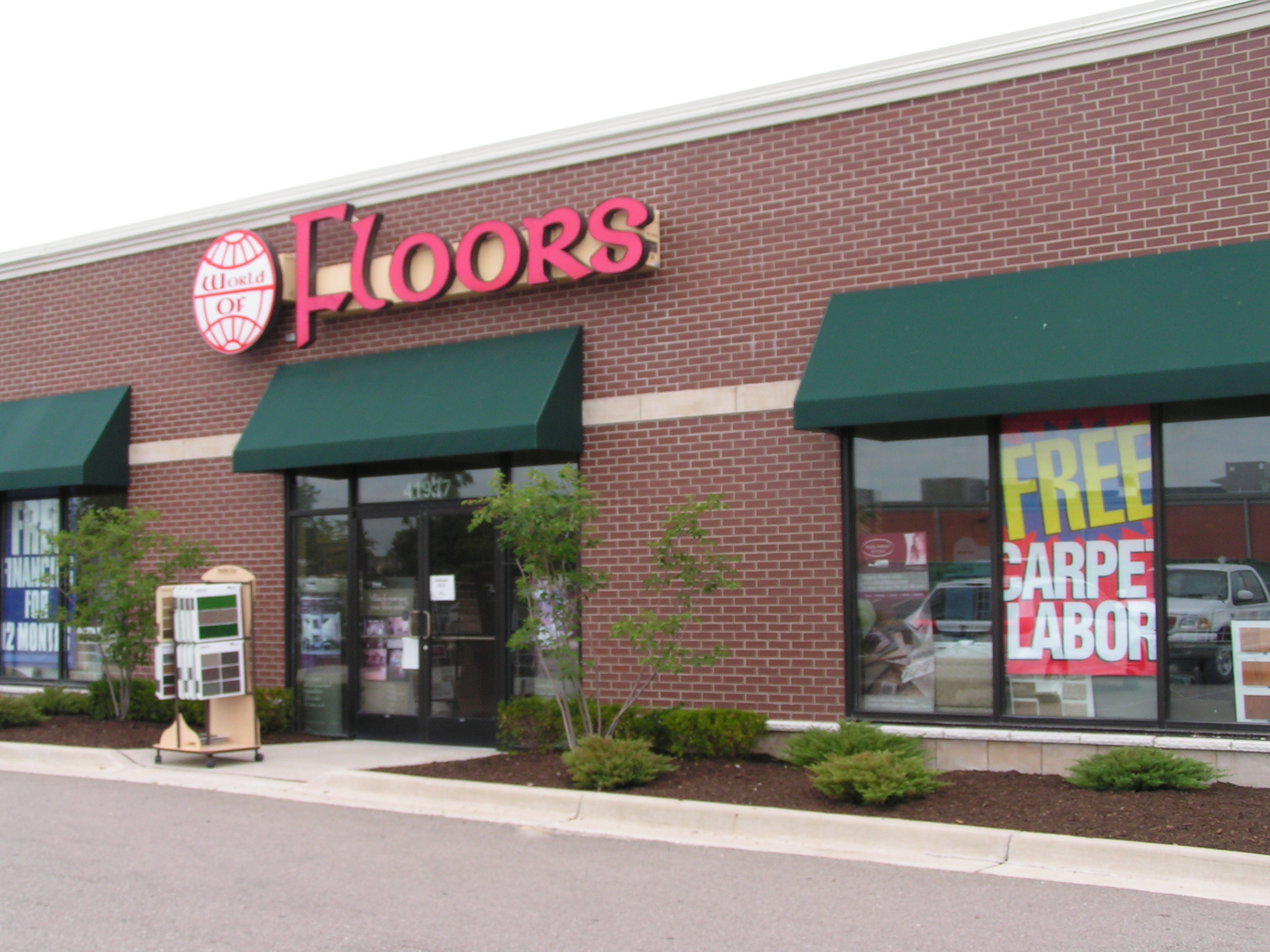 World of Floors Canton Store front