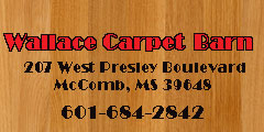 HONESTY, INTEGRITY, & GREAT SERVICE...comes with each sale at WALLACE CARPET BARN!!!
