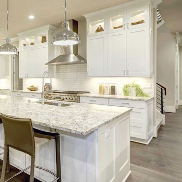 Kitchen Countertops & Flooring
