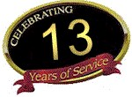 Celebrating 13 Years of Service in Columbia, SC