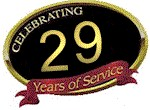 Celebrating 29 Years of Service in Raleigh, NC