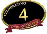 Celebrating 4 Years of Service in Raleigh, NC