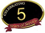 Celebrating 5 Years of Service in Raleigh, NC