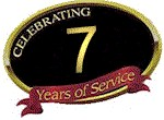 Celebrating 7 Years of Service in Raleigh, NC