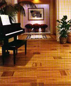 Acrylic Impregnated Wood Hardwood Flooring Hard